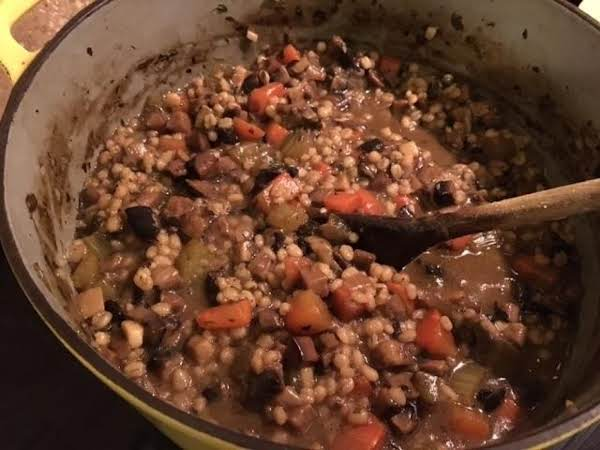 Deli Style Mushroom Barley Soup Recipe