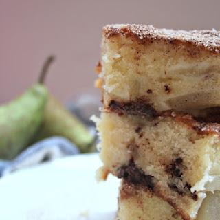 Pear, Chocolate and Cinnamon Cake Recipe