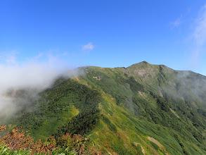 別山への道
