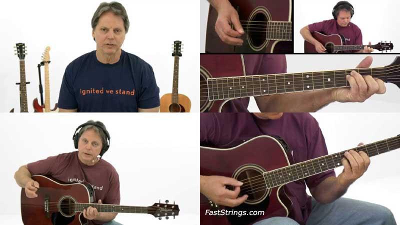 Brad Carlton - Chord Studies: Open String Chords Vol. 1