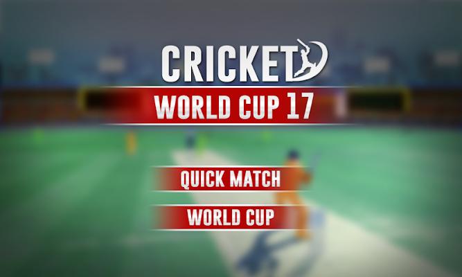 Cricket Cup - screenshot