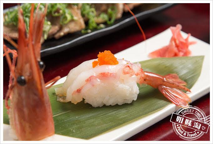 番太郎日式居酒屋牡丹蝦握壽司