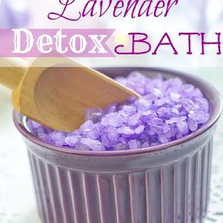 Lavender Detox Bath