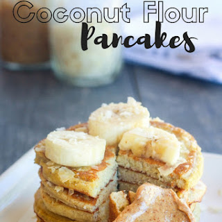 Coconut Flour Pancakes (Paleo).