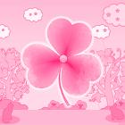 Tema de gato Rosa GO Launcher icon