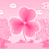 Cat Theme Pink GO Launcher