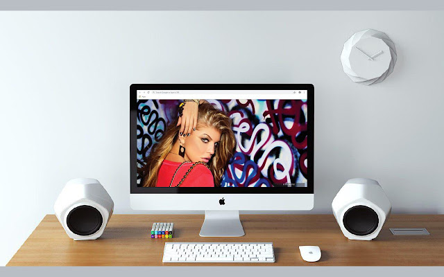 Fergie New Tab & Wallpapers Collection