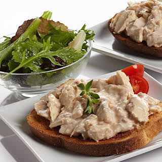 Creamed Chipped Tuna on Toast.