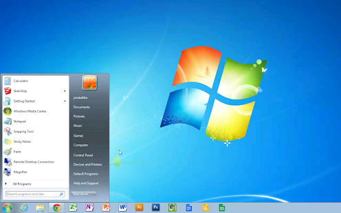 Chrome Remote Desktop Screenshot