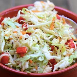 Skinny Coleslaw Recipe
