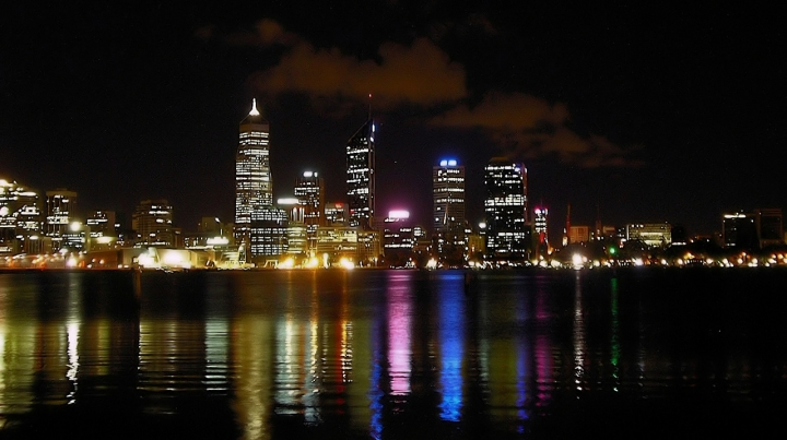Perth in notturno di rospal73