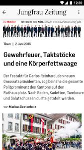 Jungfrau Zeitung screenshot 2