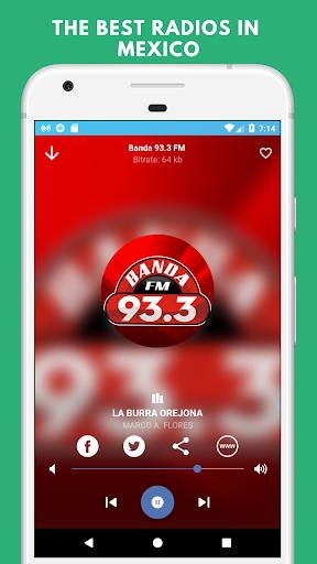 radio monterrey free - stations of nuevo leon screenshot 1