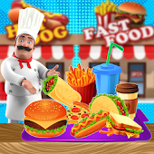 Fast Food Shop Business: Fun Shopping & Cooking