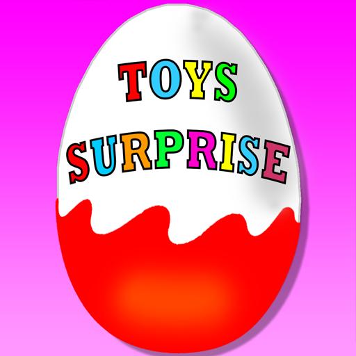 Surprise Eggs - Kids Toys Game Icon