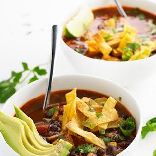 Chicken Enchilada Soup (Slow Cooker) Recipe