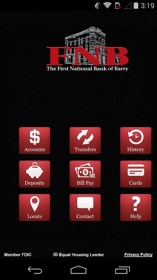 FNB Barry- screenshot