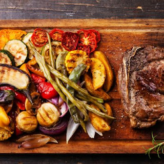 Copycat Outback Steakhouse Steak with Delightful Grilled Vegetables