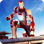 Grand Super Iron Hero Flying Rescue Mission 2018 2