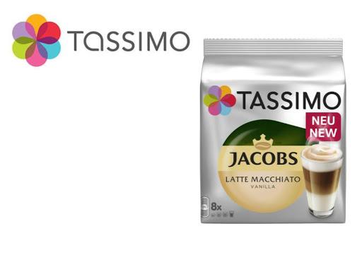 Bild für Cashback-Angebot: TASSIMO Latte Macchiato Vanilla