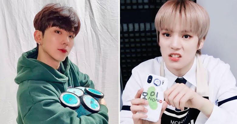 Kihyun din MONSTA X promovează înghețata cu ciocolată și mentă, spre disperarea colegului său Minhyuk