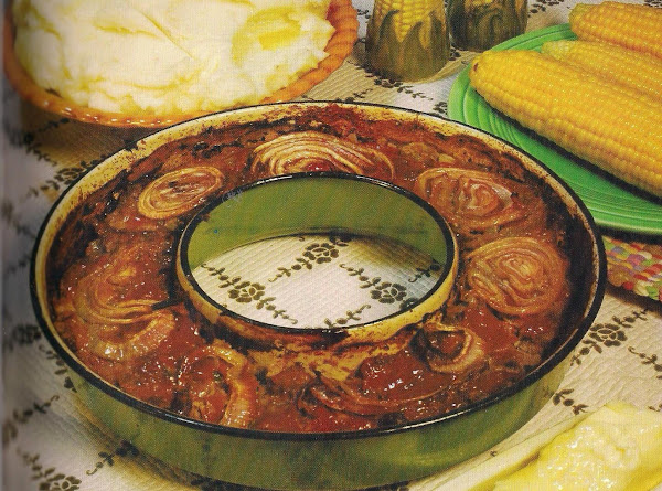 Meat Loaf In The Round Recipe