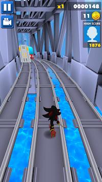 Sonic Subway Run apk screenshot