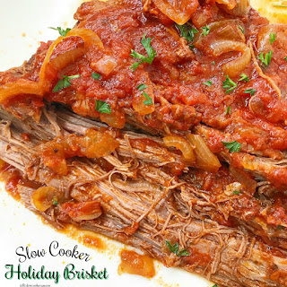 Slow Cooker Holiday Brisket Recipe