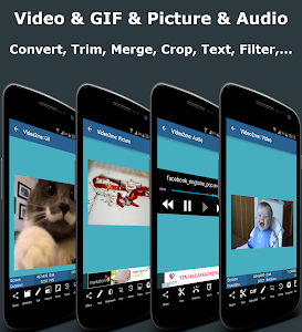 Video2me:Gif Maker, Video Edit screenshot 0