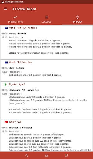Football Tips & Stats - A Football Report 2.4 Screenshots 12