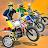 Dirt Bike Cop Race Free Flip Motocross Racing Game Icône