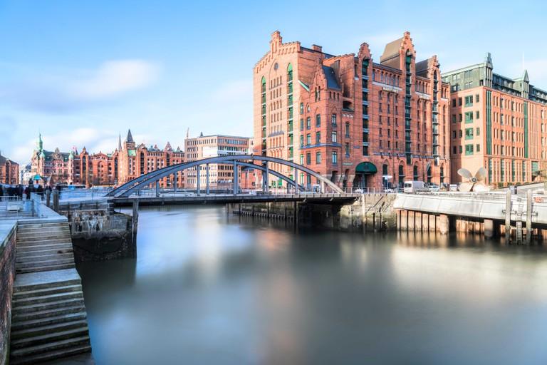 Brooktorhafen, Hamburg, Germany.