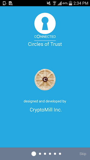 Connected Circles of Trust