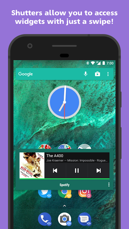 Action Launcher - Oreo + Pixel on your phone- screenshot