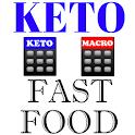 Keto Diet Fast Food + Macro and Keto Calculator icon