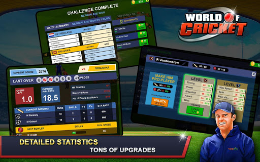 World of Cricket  captures d'écran 4