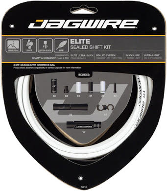 Jagwire Elite Sealed Shift Cable Kit SRAM/Shimano Ultra-Slick Uncoated Cables alternate image 3