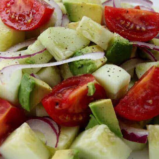 Cucumber Tomato Onion Salad Recipes