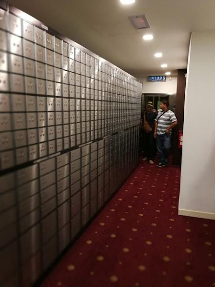 Deretan kota Safe Deposit box