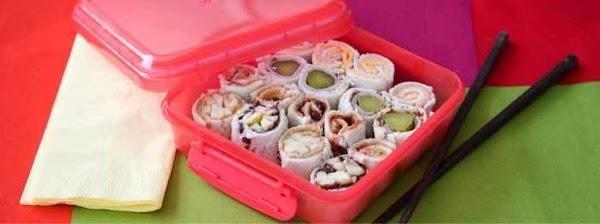 Lunchbox Sushi Cute Idea! Recipe
