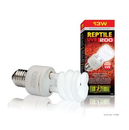 ExoTerra Reptile UVB 200 13W E27