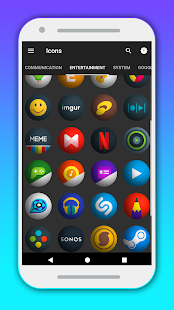 Mumber - Icon Pack Screenshot