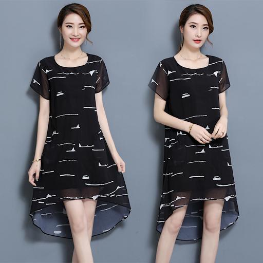 Sử dụng họa tiết đơn giản cho chiếc váy