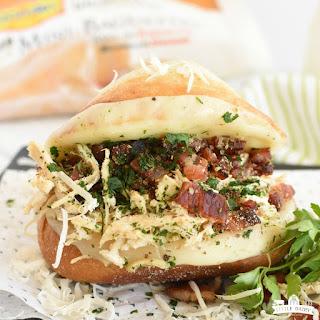 Italian Chicken Bacon Sandwich.