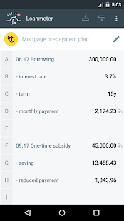Loan Calculators- screenshot thumbnail