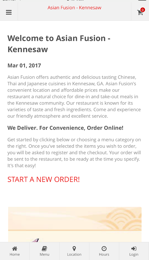 Asian Fusion - Kennesaw- screenshot