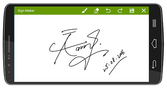 Signature Maker Real screenshot 7