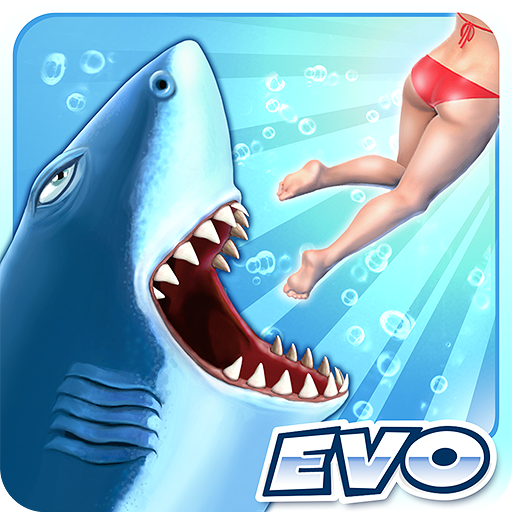 (APK) تحميل لالروبوت / PC Hungry Shark Evolution ألعاب