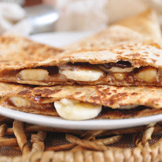 Almond Butter Banana Breakfast Quesadillas Recipe