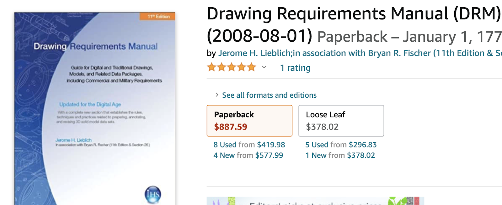 drawing requirements manual